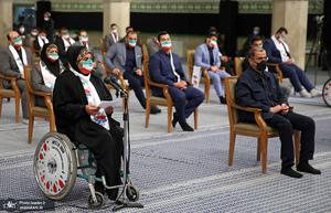 دیدار قهرمانان المپیک و پارالمپیک با رهبر معظم انقلاب