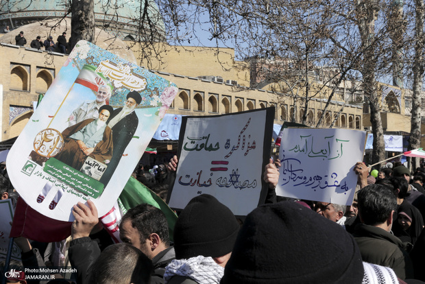همه واکنش ها به حذف نام امام خمینی از بیانیه راهپیمایی 22 بهمن و توهین به روحانی