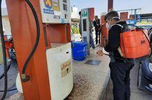 جایگاههای سوخت مازندران هر 2 ساعت ضدعفونی میشود