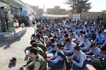 20 هزار دانش آموز آران و بیدگلی سال تحصیلی را آغاز کردند