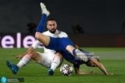 نیمهنهایی لیگ قهرمانان اروپا| رئالمادرید یک- چلسی یک؛ توقف قوهای سپید مقابل آبیهای لندن+عکس و ویدیوی گلها