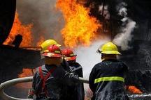 انفجار سلیندر گاز منجر به سوختن مرد جوان شد