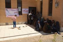 طرح ویزیت رایگان بیماران در روستای قلعه نو مه ولات اجرا شد