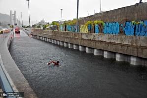 وقوع سیل در برزیل