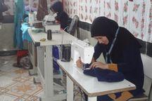 مرکز تولید پوشاک بانوان روستایی در مشهد راهاندازی شد