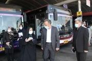 ۳۵ دستگاه مه پاش در ناوگان اتوبوسرانی تهران بهرهبرداری شد