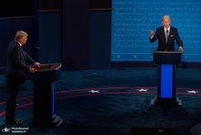 استفاده از گزینه «میکروفون های خاموش» در آخرین مناظره انتخاباتی آمریکا