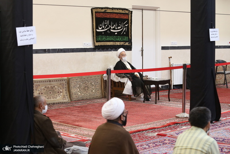 مراسم اربعین حسینی در بیوت مراجع و علما