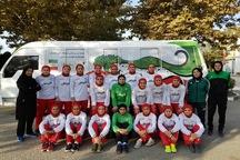 بانوی فوتسالیست کردستانی به اردوی تیم ملی دعوت شد