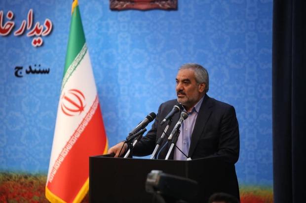 فضای امن و دلگرمی برای سرمایهگذاران کردستان فراهم شود
