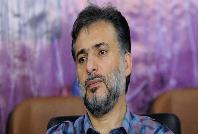 ببینید/ اظهارات سید جواد هاشمى در مراسم خاکسپاری علی انصاریان