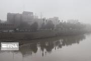 خوزستان مه آلود شد