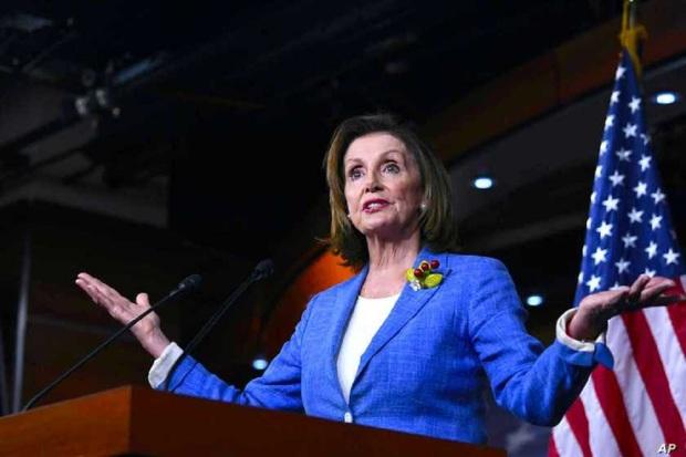 نانسی پلوسی دوباره رئیس مجلس نمایندگان آمریکا شد