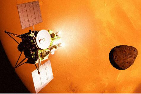 عکاسی ژاپنی ها با دوربینی 8K از قمرهای مریخ