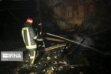 کارخانه رنگسازی در تهران طعمه آتش شد