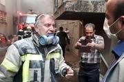 آتش سوزی نیروگاه تبریز مهار شد