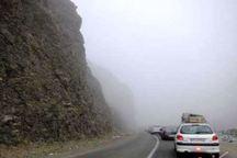 جاده های کوهستانی خراسان رضوی مه گرفته است