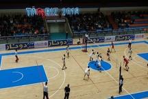 تیم والیبال شهرداری تبریز مقابل خاتم اردکان شکست خورد