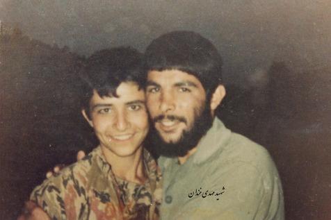 شهید مهدی خندان و پیش بینی عملیاتی که در آن شهید می شد