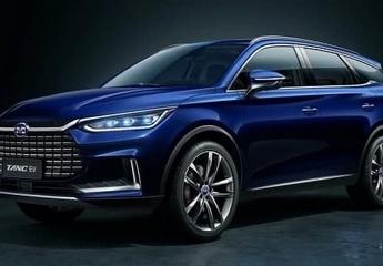 ورود خودروی جدید بی وای دی تانگ به بازار ایران+ مشخصات فنی