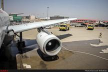 فرود اضطراری هواپیمای دبی به نروژ در شیراز