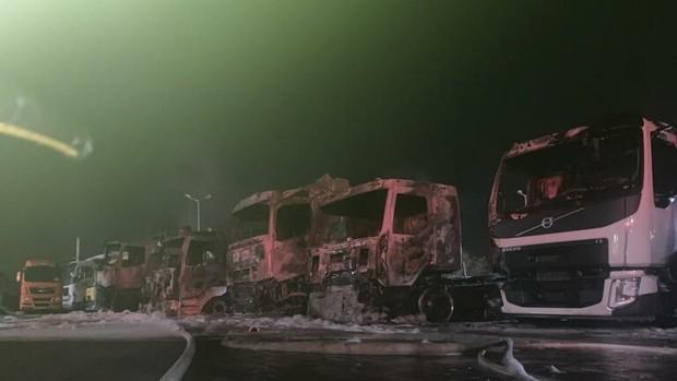 ادامه حوادث مشکوک در فلسطین اشغالی؛این بار آتش سوزی مهیب در حیفا