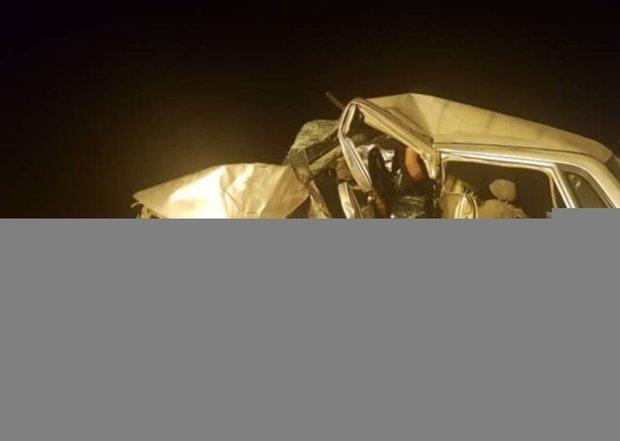 چهار نفر در سانحه رانندگی جاده سرخس جان باختند