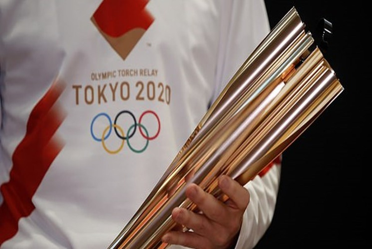 عجیب ترین مراسم حمل مشعل المپیک در توکیو +عکس