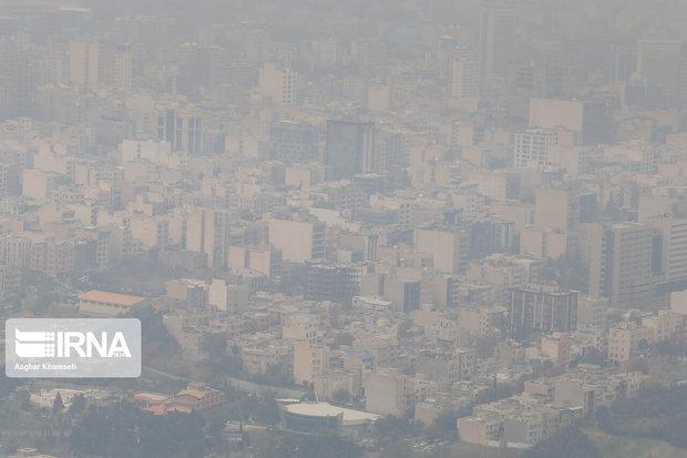 هوای همدان همچنان آلوده است