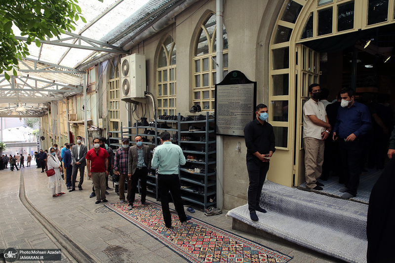انتخابات 1400 در حسینیه جماران - 3