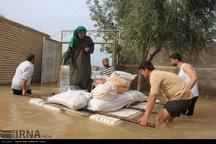 سیلاب شهر بستان را تهدید می کند