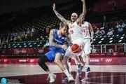المپیک 2020 توکیو  شکست پر افسوس بسکتبال ایران مقابل چک +عکس