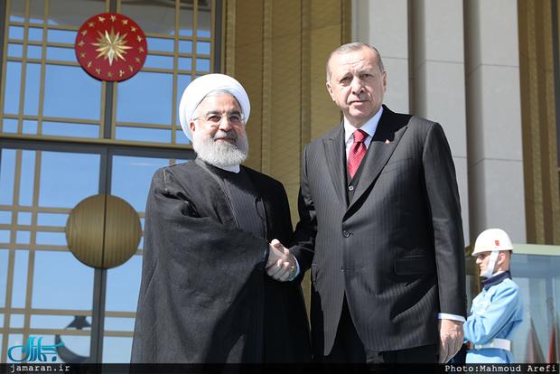 تاکید روحانی و اردوغان بر ضرورت بازگشایی مرزهای ایران و ترکیه