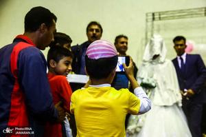 عروسی سیل زدگان آق قلا