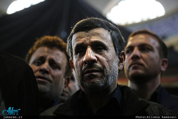 تسلیت احمدی نژاد به وزیر اطلاعات