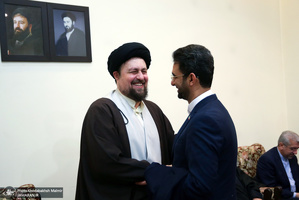 حاشیه تجدید میثاق اعضای دولت با آرمان های امام خمینی(س)