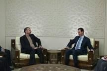 اسد: ایران بزرگترین حامی سوریه است
