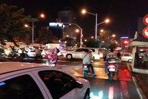 خوشحالی تماشاگران پرسپولیس  ترافیک شدید در خیابان های منتهی به ورزشگاه آزادی