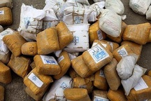 شناسایی اعضای باند حمل موادمخدر در سراوان کشف یک تن موادمخدر و یک قبضه سلاح