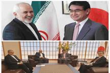 گفت و گوی برجامی ظریف با وزیر خارجه ژاپن