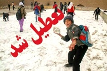 مدارس تمامی مقاطع در شهرستانهای ابهر، خرمدره و خدابنده تعطیل شد