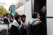 ۱۶۰ دانش آموز دختر از پیشوا عازم مناطق عملیاتی شدند