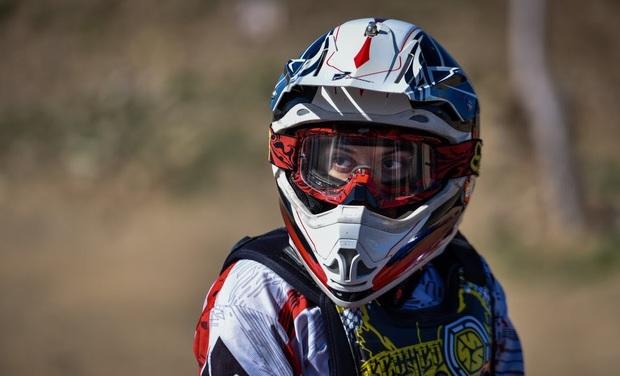 بانوی هرمزگانی نایب قهرمان رقابت های موتورکراس کشور شد