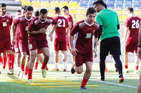 احمدزاده به تمرین پرسپولیس بازگشت