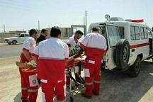 امدادرسانی هلال احمر به 97 نفر حادثه دیده در البرز
