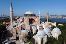 با امضای اردوغان ایاصوفیه مسجد شد