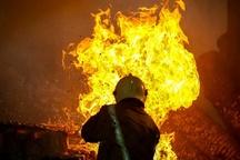 آتش سوزی در رستوران پاکستانی آبادان
