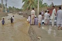 2 فرد گرفتار سیلاب در نیکشهر نجات یافتند