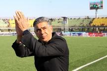 سرمربی فولاد خوزستان: بازی برابر سپیدرود دو نیمه متفاوت داشت