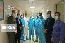 بازدید معاونان دانشگاه علوم پزشکی یزد از بیمارستان شهید صدوقی